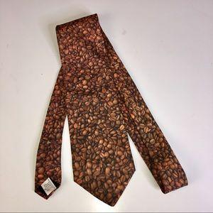 RALPH MARLIN COFFEE BEAN Men's Tie
